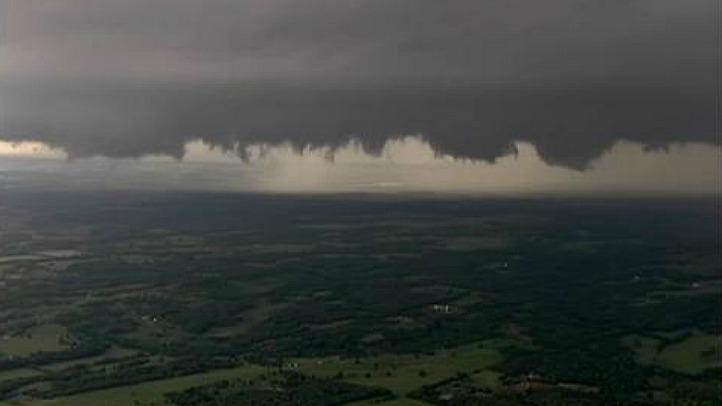 okc storm clouds