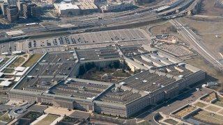 Pentagon aerial