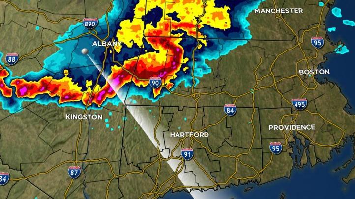 radar severe thunderstorm wed night