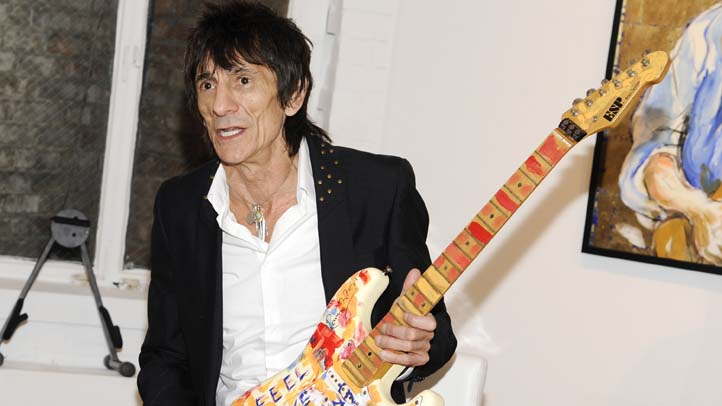 Ronnie Wood Art Exibition
