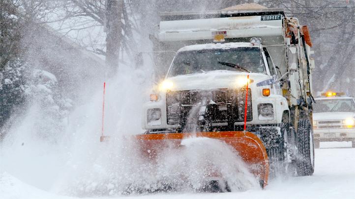 sanitation truck blizzard