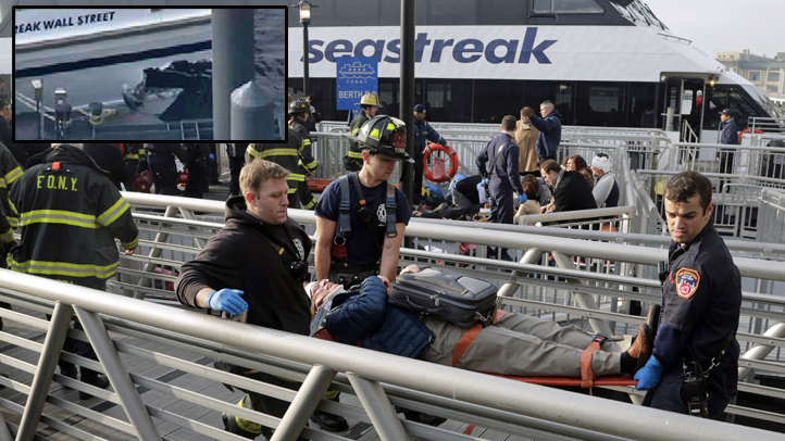 seastreak inset damage ferry crash