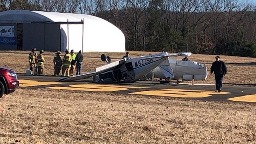 simsbury-plane-crashes-into-vehicle