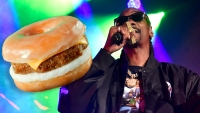 Snoop Dogg's New Plant-Based Sandwich Debuts at Dunkin'