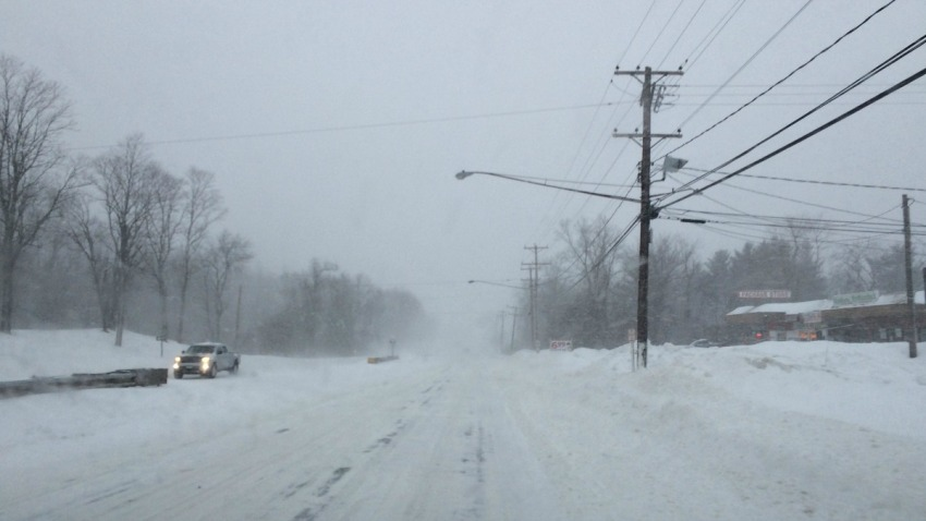 south windsor poor visibility