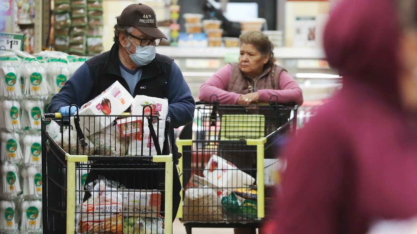 Stores Offer Shopping Times For Elderly And Vulnerable Citizens To Protect Against Coronavirus Transmission
