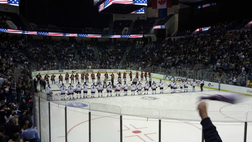 uconn hockey_boston college