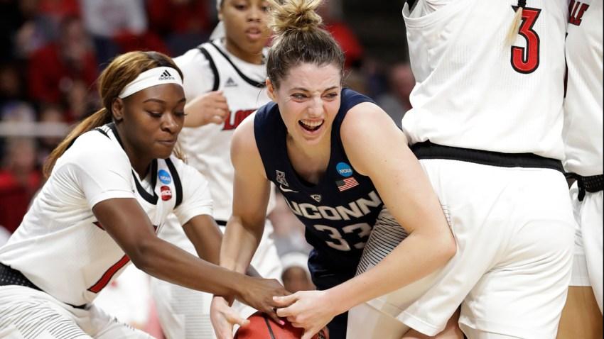 NCAA UConn Louisville Basketball