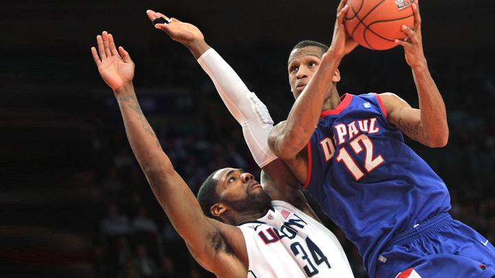 APTOPIX BEast DePaul UConn Basketball