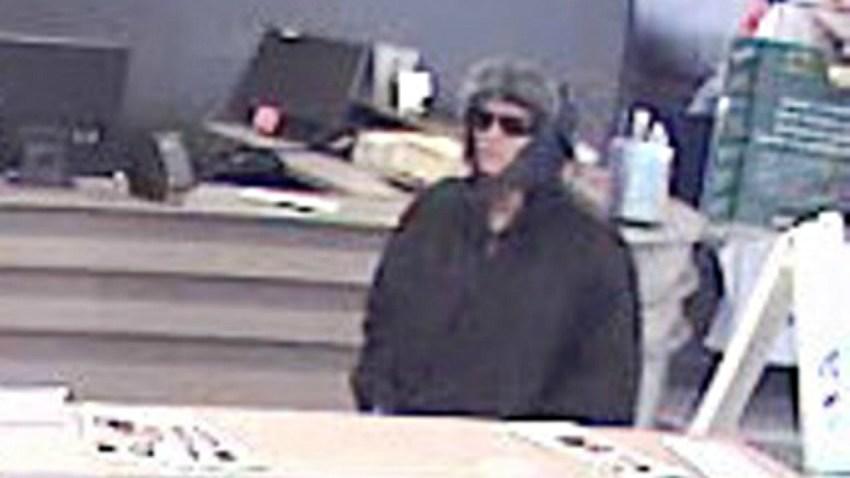 vernon bank robbery female suspect