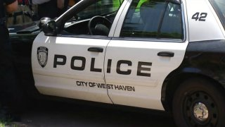West Haven Police Cruiser