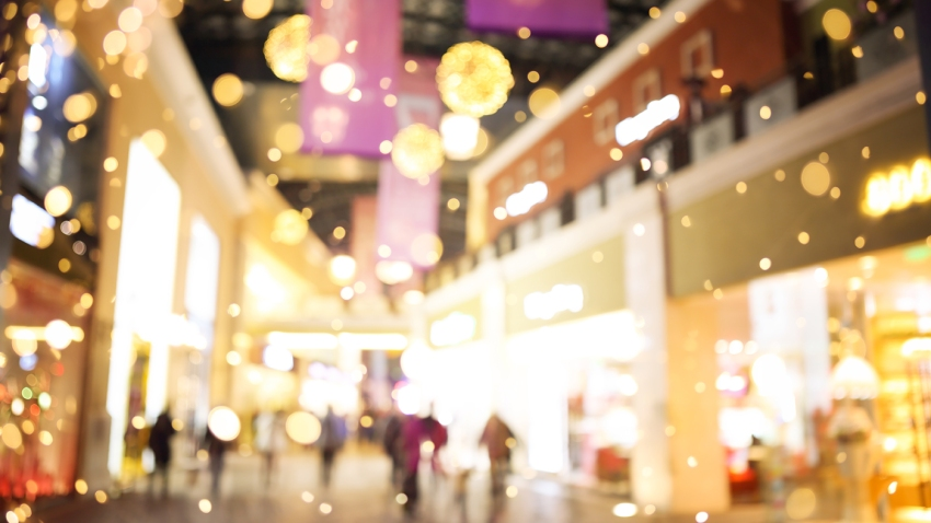 Shopping mall holiday