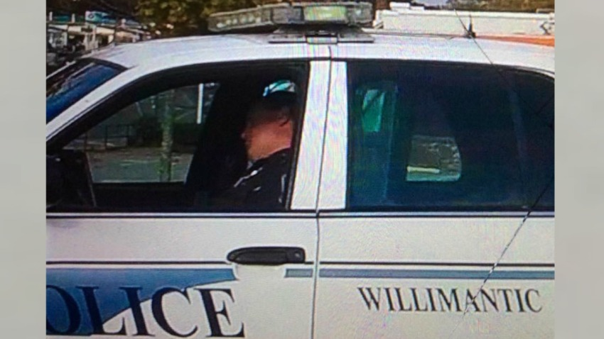 willimantic officer sleeping