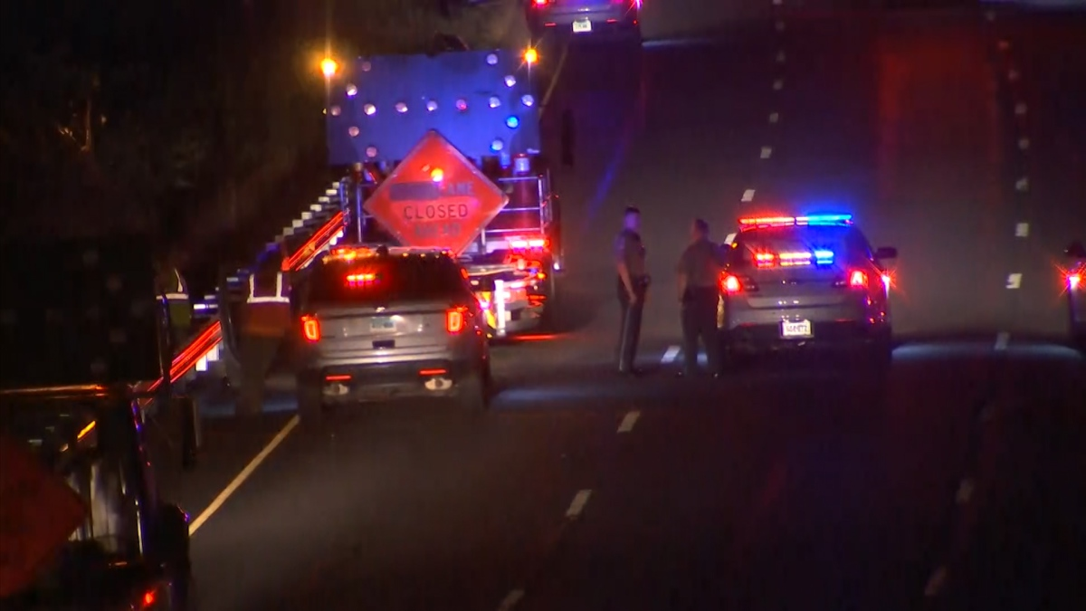 Construction Worker Hit By Car On I-91 North In Middletown