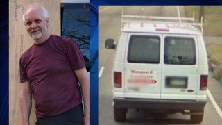 Photo of David Marquard, of Torrington, and his truck. He has been supported missing.