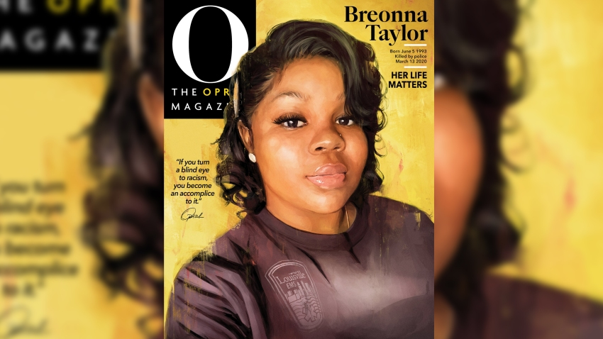 The September 2020 cover of O, The Oprah Magazine featuring Breonna Taylor