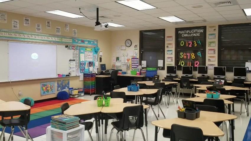 Generic Empty Classroom (3)