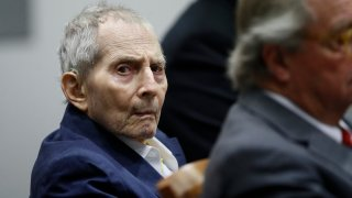 Robert Durst appears in court.