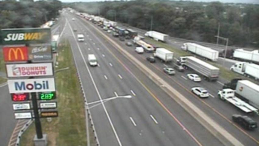 Congestion on Interstate 95 in fairfield