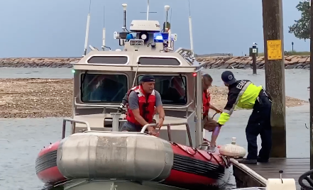 Man Rescued After Being Stranded on Island in Westbrook