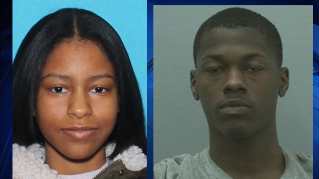Police photos of Sydney WITCHARD and Daniel Phillip Baez