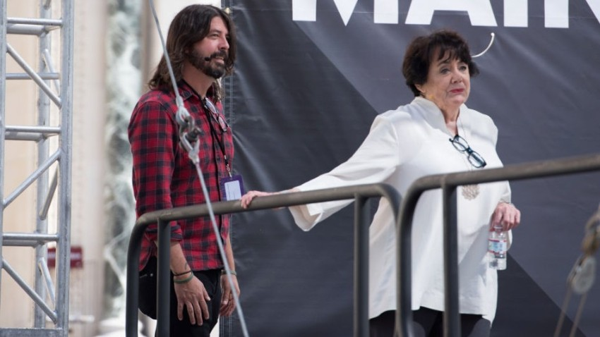 dave grohl and virginia grohl