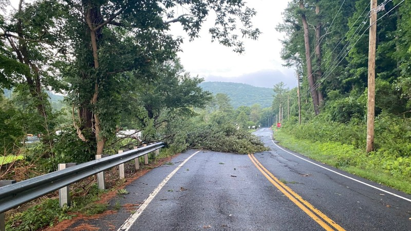 PHOTOS: Damage Reported in Mass., Conn. Communities After Tornadoes Touch Down