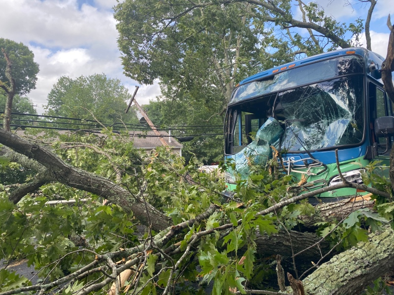 PHOTOS: Tropical Storm Isaias Rips Across Connecticut