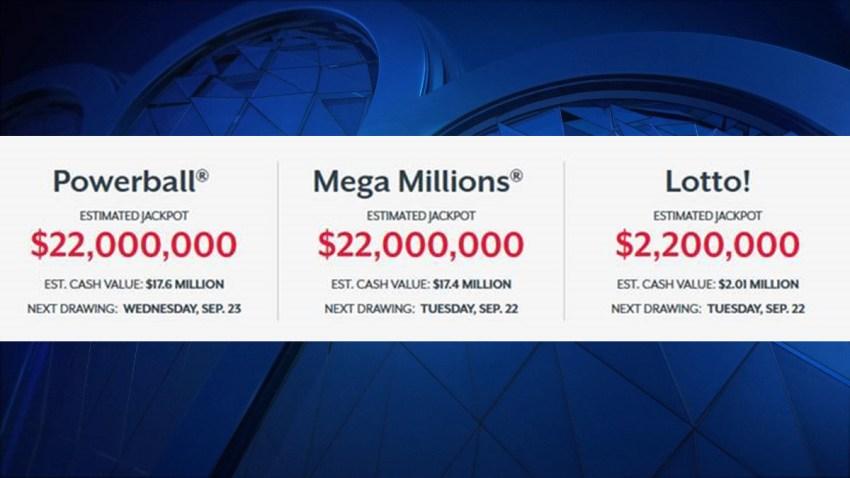 CT Lottery 22 jackpots