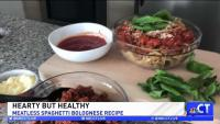 CT LIVE!: Meatless Spaghetti Bolognese