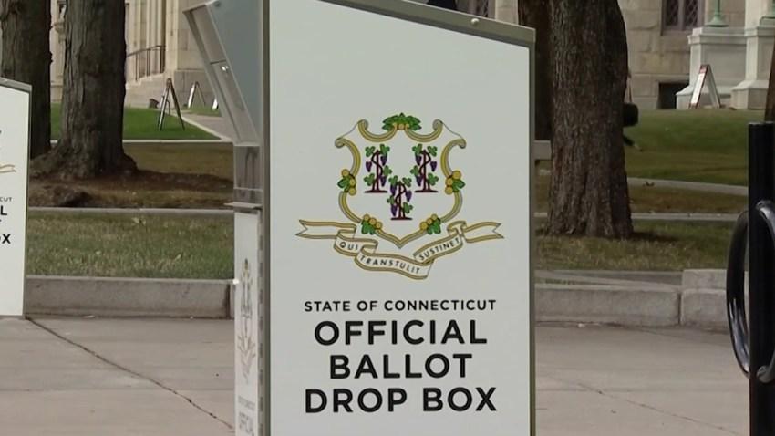 Connecticut ballot drop box