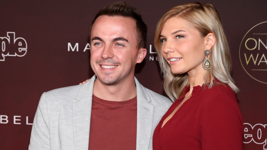 """In this Oct. 4, 2017, file photo, Frankie Muniz and Paige Price attend People's """"Ones To Watch"""" at NeueHouse Hollywood in Los Angeles, California."""