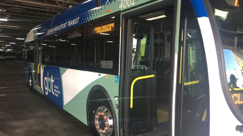 Greater Bridgeport Transit Authority electric bus