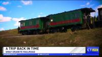 CT LIVE!: Step Back in Time Aboard the Gray Granite Railroad