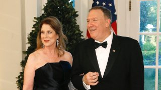 Michael Pompeo (R) and Susan Pompeo