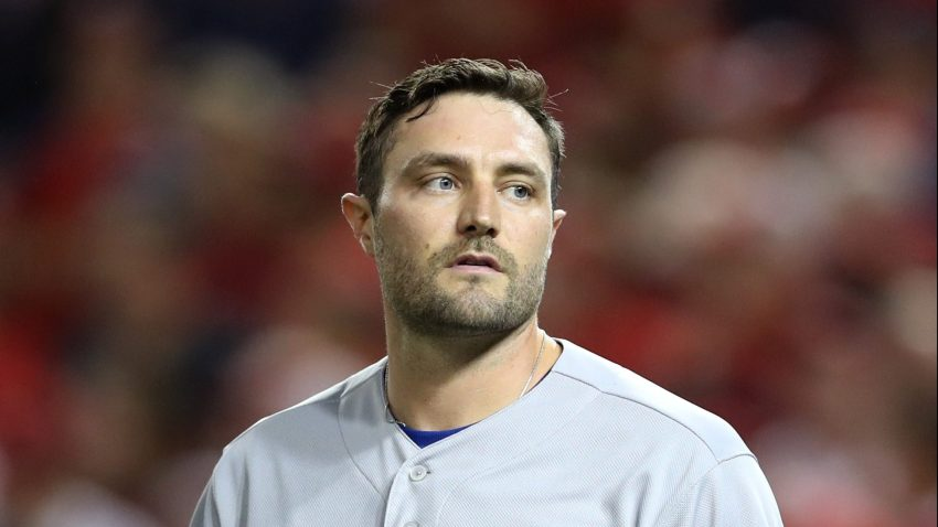 A.J. Pollock #11 reacts after striking out in the first inning of Game 3 of the NLDS against the Washington Nationals at Nationals Park on October 06, 2019 in Washington, DC.