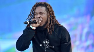 Fetty Wap performs during the 2019 Rolling Loud music festival at Citi Field on October 12, 2019 in New York City.