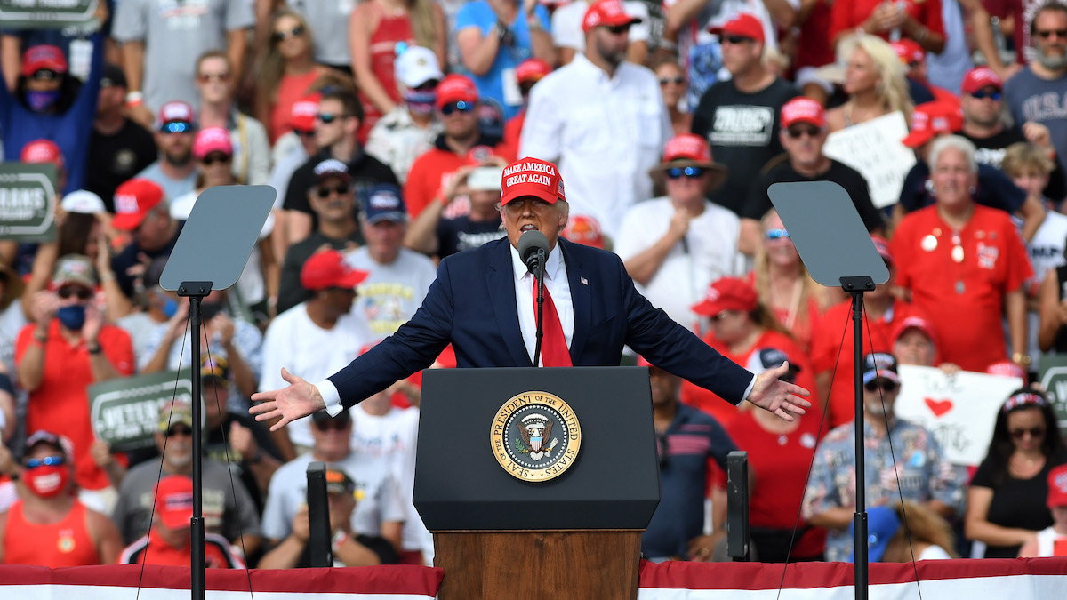 As Virus Surges, Trump Rallies Keep Packing in Thousands – NBC Connecticut