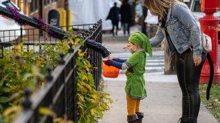 Halloween Celebrated In New York City Amid Coronavirus Pandemic