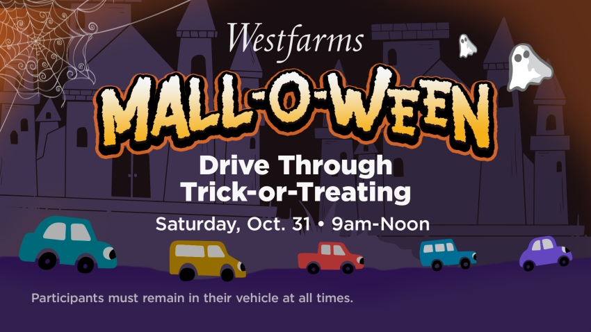 Halloween Trick Or Treat Mall. 2020 Westfarms to Host Mall O Ween Drive Through Trick or Treating
