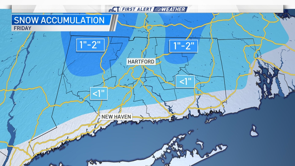 snow map for October 30th 2020