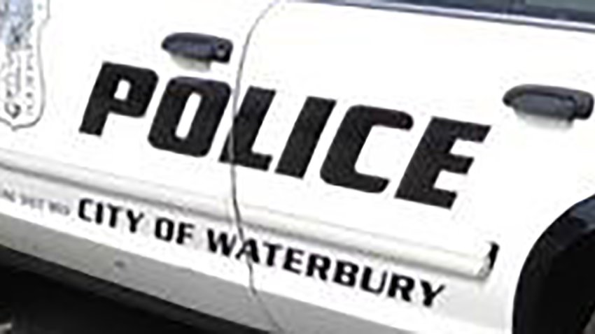 Waterbury police cruiser