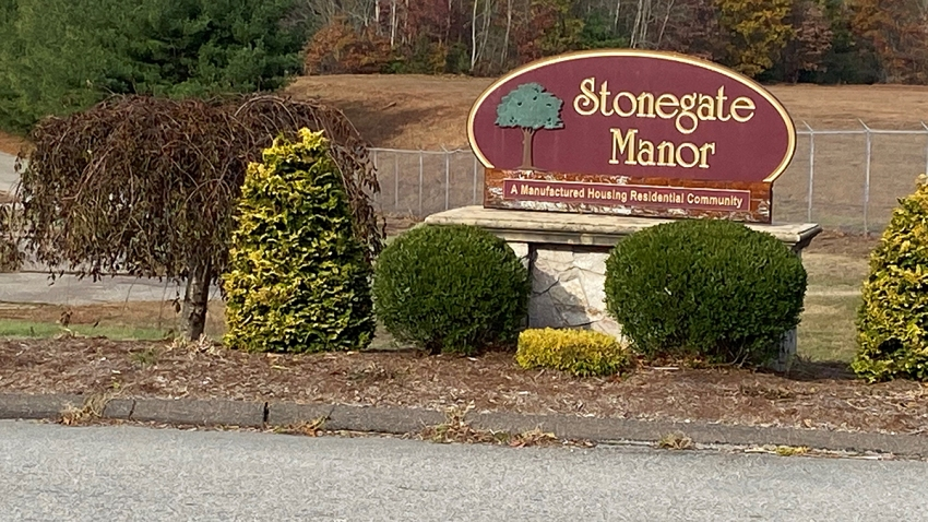 Stonegate manor in North Windham