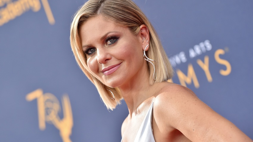 file photo, Candace Cameron Bure attends the 2018 Creative Arts Emmy Awards at Microsoft Theater in Los Angeles.