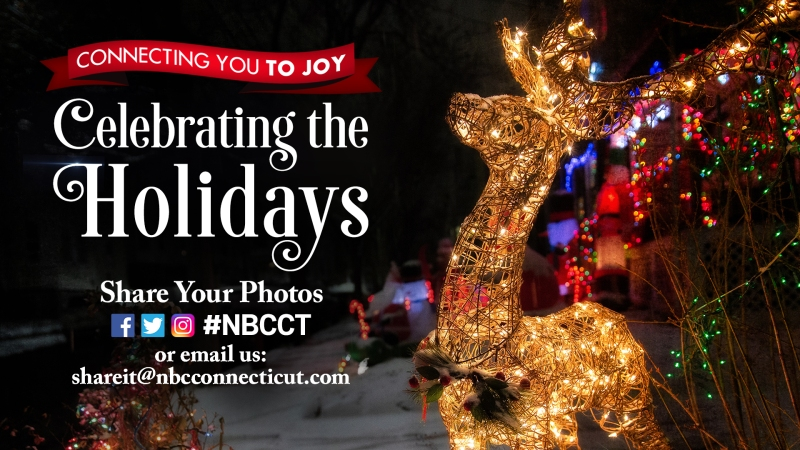 Share Your Holiday Photos for a Chance To Be Featured on NBC Connecticut