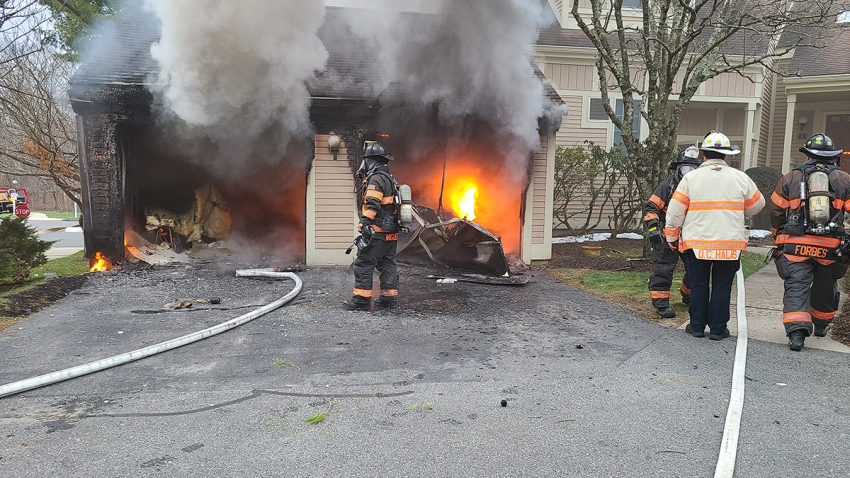 Fire at Sterling Woods Townhouse in Danbury