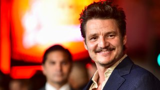 """In this Nov. 13, 2019, file photo, Pedro Pascal attends the Premiere of Disney+'s """"The Mandalorian"""" at El Capitan Theatre in Los Angeles."""