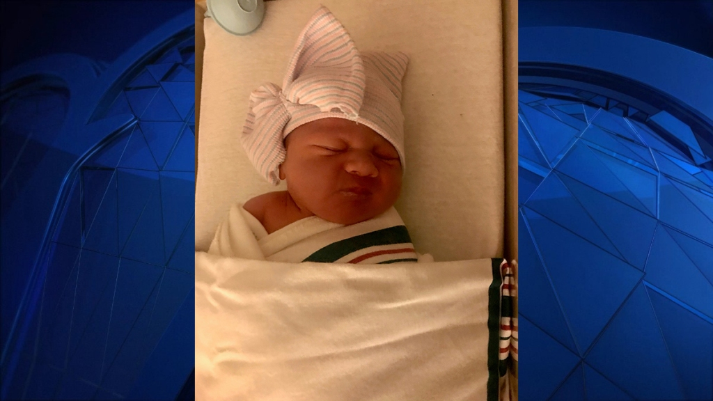 Baby Ashley Grace is the first baby of 2021 at Griffin Hospital Childbirth Center