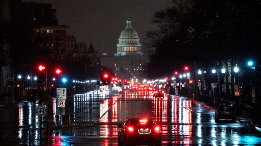 Photo taken on Jan. 1, 2021 shows the U.S. Capitol Hill building in Washington, D.C.,