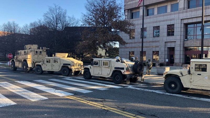 PHOTOS: Law Enforcement Prepares for Possible Protests at Conn. State Capitol